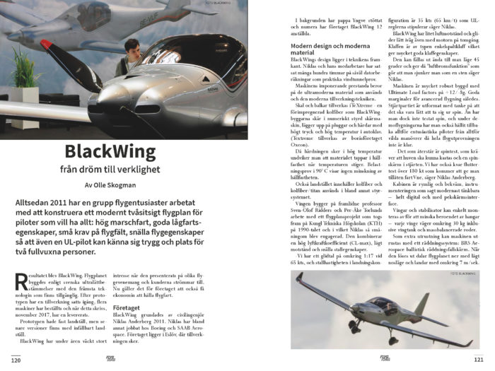 BlackWing – Olle Skogman