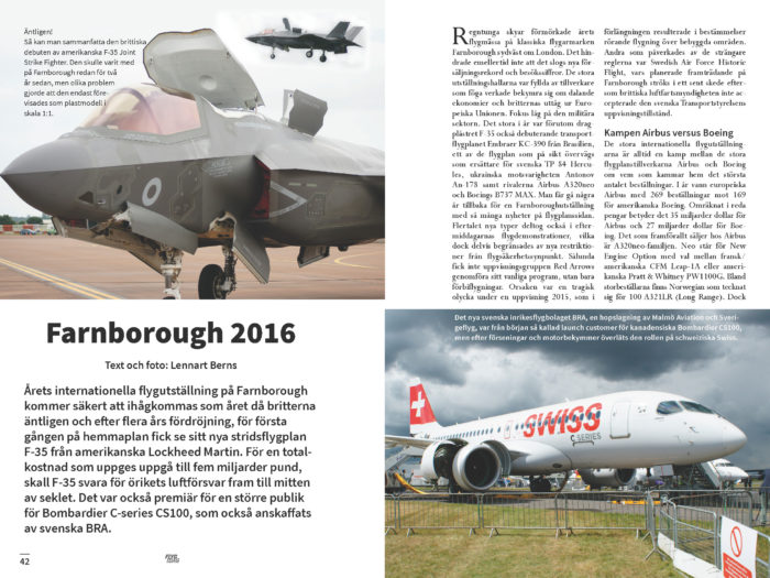 Farnborough 2016 – Lennart Berns