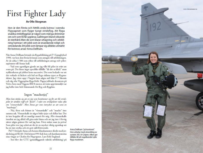First Fighter Lady – Olle Skogman